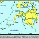 Earthquake Magnitude 5.7 Struck Davao Oriental Dec. 4, 2013