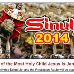 Cebu Sinulog Festival 2014 Official Schedule of Activities