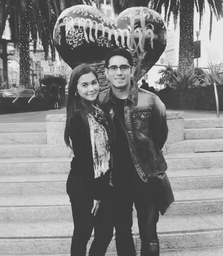 Maja Salvador and Gerald Anderson Instagram Romantic Photo ...  Maja