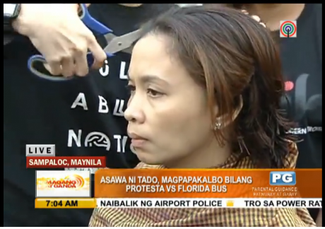"""""""Tado"""" Jimenez Shaves Hair in Front of Florida Terminal -Video"""