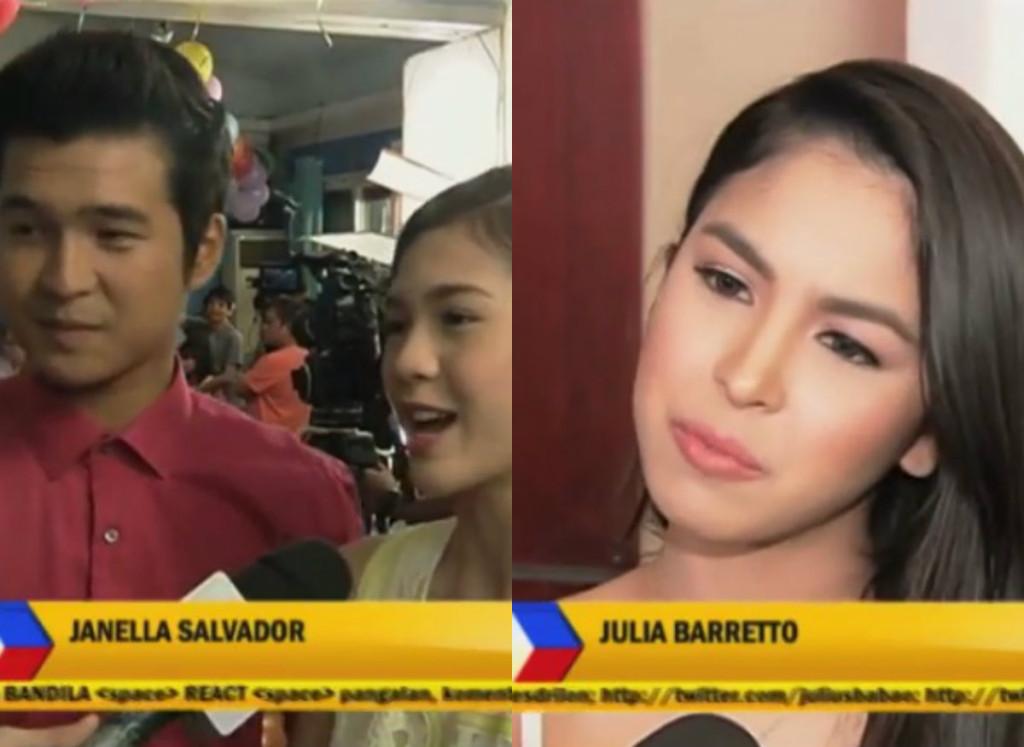 Julia Barretto, Janella Salvador & Jerome Ponce Defended ...