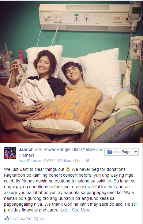 Watch: Jamich reacts on FB post Bashers & Issues Official ...