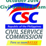 "Congratulations! October 2014 Civil Service Exam Results; Professional Level ""List of Passers"""