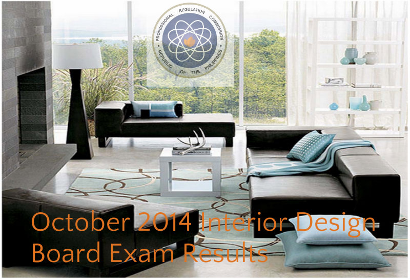 October 2014 Interior Design Board Exam Results Complete List Of Passers