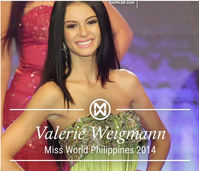 Dating gawi dabarkads miss world philippines 2014 valerie weigmann