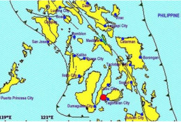 Magnitude 4 Earthquake Hits Tagbilaran City, Bohol around 8:33 P.M. Sunday, Jan. 18, 2015