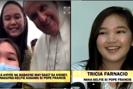 "Tricia Farnacio ""Selfie"" with Pope Francis Video Went Viral"