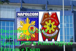 December 14, 2014 Napolcom Special PNP & Police Officers Exam Results: List of Passers
