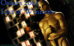 Official Results for Oscar 2015 Academy Awards, List of Winners