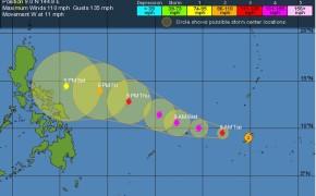 Typhoon Maysak Enters PAR on April 1, 2015 announce by PAGASA