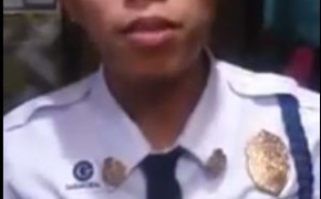 """Singing Security Guard Jagspher Flores Offered a Song """"Tapat Kailan Man"""" for Jam Sebastian"""