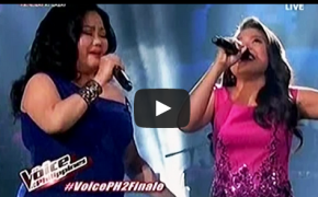 "Alisah Bonaobra & Dulce Sings ""Ako ang Nagwagi"" Duo Performance of ""The Voice PH Season 2 Grand Finale"""