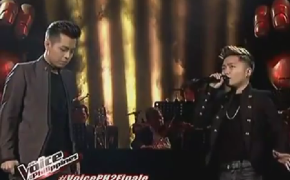 "Jason Dy Showing Off with Charice Pempengco During their Duo Performance of Wrecking Ball on ""The Voice PH Grand Finale"""