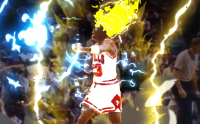 Watch! Michael Jordan Transformed into Super Saiyan