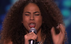 Samantha Johnson Receive a Standing Ovation by Judges on America's Got Talent 2015