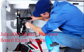 Congratulations! July 2015 Master Plumber Board Exam Results List of Passers