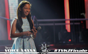"Sassa Dagdag & Sharon Cuneta Duet ""Ikaw"" During the Grand Finale of The Voice Kids Philippines Season 2"