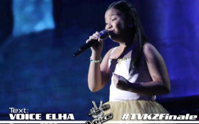 Congratulations Elha Nympha is the Grand Champion of the Voice Kids Philippines Season 2