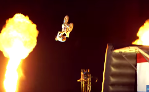 A Motocross Team Metal Mulisha Fitz Army Dangerous Performance During Live Semifinals on America's Got Talent 2015