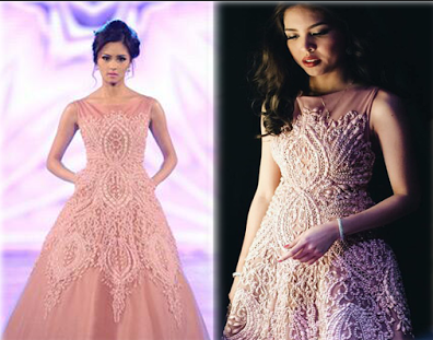 Kim Chui finds nothing wrong about the same gown with Maine ...