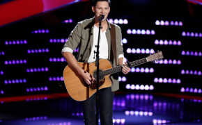 "Chris Crumps a 4-Chair-Turner in Singing ""Thinking Out Loud"" on 'The Voice 2015' Blind Auditions"