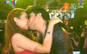 """Karylle Finally Speaks Up About The """"KISSING SCENE"""" last September 26,2015 on It's Showtime 6th Anniversary"""