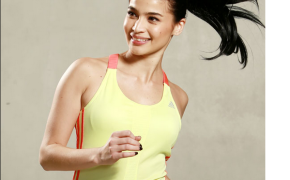 Anne Curtis on 21k Run for a Cause