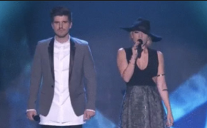 "The X Factor Australia Grand Finalist Jess and Matt Sings ""Lay me Down"""