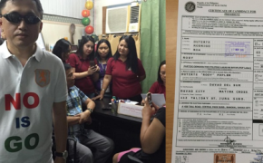 Mayor Rogrigo Duterte Officially Filed His Certificate of Candidacy
