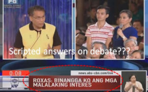 Full Video: Did Mar Roxas Cheated on ABS-CBN 3rd Presidential Debate?