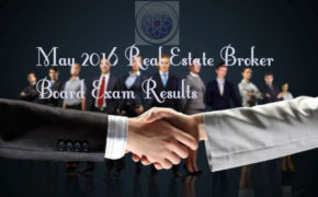List of Passers: May 2016 Real Estate Broker Board Exam Results (Alphabetical Order)