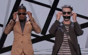 Tape Face Uses Nick Cannon and Heidi Klum to Entertain the Audience During Live Shows on America's Got Talent 2016