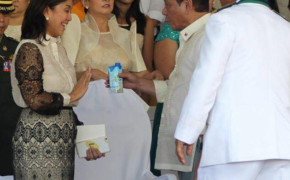What Happened When President Rodrigo Duterte Meets Vice President Leni Robredo for the First Time