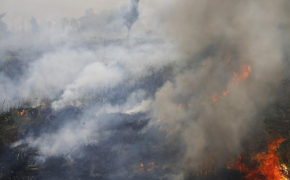 Haze from Forest Fires from Indonesia now affecting Malaysia after Singapore