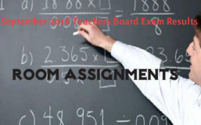 September 2016 Teachers LET Board Exam Room Assignments
