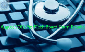 Congratulations! August 2016 MedTech Board Exam Results 'LIST of PASSERS'