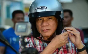 Noisy Motorcycle caught the attention of Pres. Duterte during Press Conference