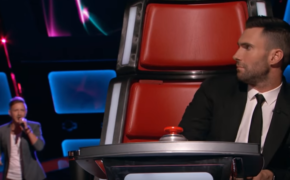 "Four-Chair-Turner Billy Gilman Impress Judges by Singing ""When We Were Young"" on Blind Auditions of The Voice Season 11"
