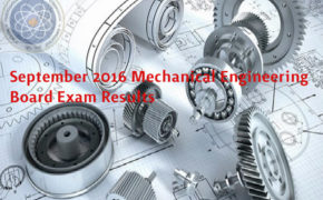 Congratulations! September 2016 Mechanical Engineer (ME) & Certified Plant Mechanic (CPM) Board Exam Results