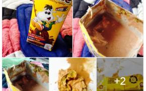 Alleged form Algae form found in Chuckie Chocolate Drink
