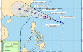 PAGASA update as of September 25, 2016 on Typhoon Helen