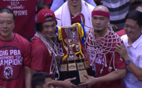 Full Video Recap: Barangay Ginebra is the 2016 PBA Governor's Cup Champion