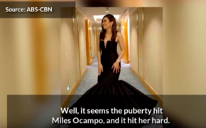 Transformation of Miles Ocampo Into A Hot Lady Trends Online