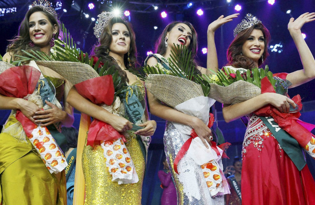 Miss Earth 2016 is Katherine Espin of ECUADOR