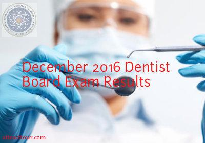 Congratulations! December 2016 & January 2017 Dentist Practical / Written Board Exam Results ...