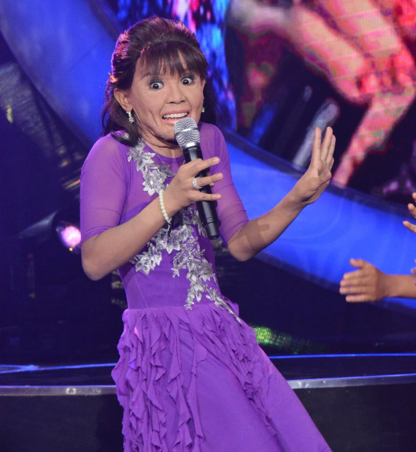 1 More Than 2 1 More Than 2: Awra Briguela Impersonates Mommy D Got More Than 2 Million