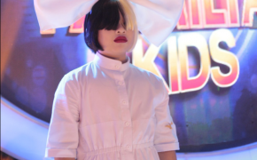 "Elha Nympha Impersonates Sia and Sings ""Titanium"" on Your Face Sounds Familiar Kids"