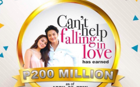 KathNiel 'Can't Help Falling in Love' Earns P200 Million as of April 28, 2017