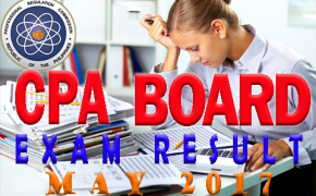 CPA Board Exam May 2017 Published Alphabetical Result Listings A-Z