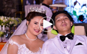 "Viral Video: Paralyzed for Lifetime ""Christian Millari"" Marries by His Lover Angela"